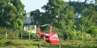 Helikopter vanmorgen richting Zorg en Hoop vertrokken