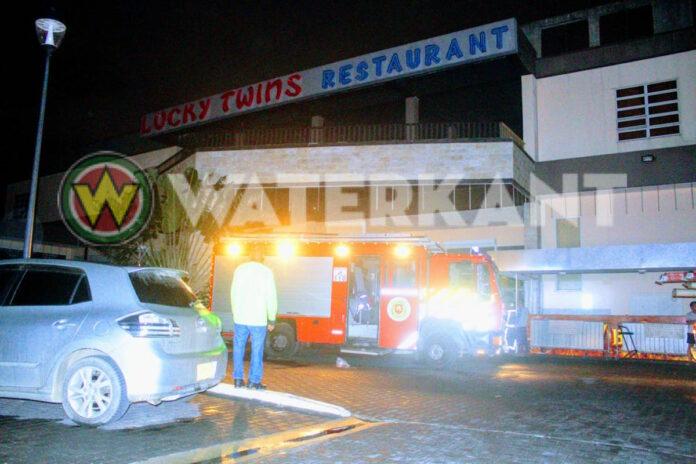Brandweer uitgerukt na brandmelding bij restaurant Lucky Twins