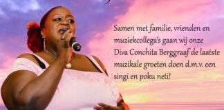Laatste muzikale ode aan overleden zangeres Conchita Berggraaf