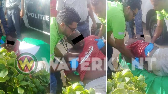 Rover in Paramaribo neergeschoten door Surinaamse politie