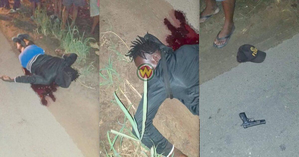Verdachte van diefstal neergeschoten aan de Tout Lui Fautweg