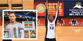 Kamé en Tjon En Fa Surinaamse Sportvrouw/Sportman van 2019