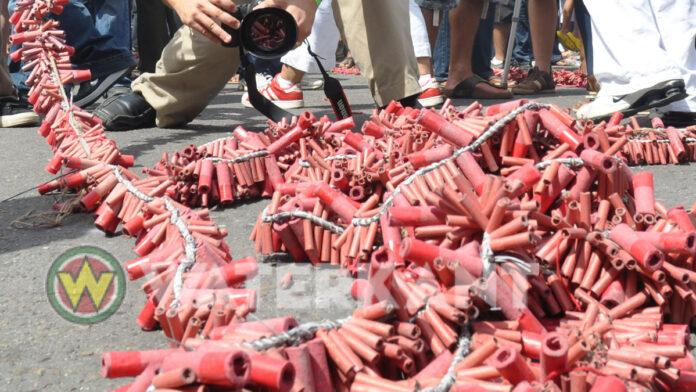 Afschietperiode vuurwerk in Suriname van 27 december tot 2 januari
