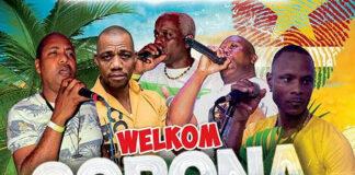 Corona Band naar Suriname, welkom party 21 december