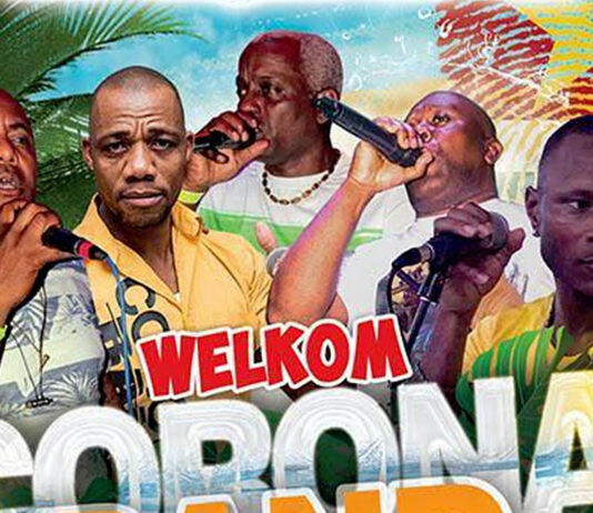 Corona Band naar Suriname, welkom party 21 december