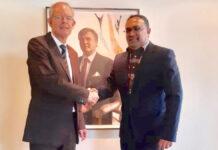 Ramsodit voert vruchtbare gesprekken met Tijdelijk Zaakgelastigde van NL in Suriname