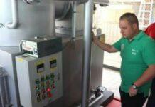 Academisch Ziekenhuis in Suriname neemt verbrandingsovens in gebruik