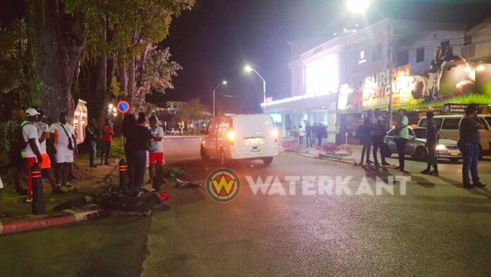 Bromfietser dodelijk aangereden in centrum Paramaribo