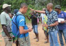 Dorp Langu te Boven-Suriname krijgt kunstgrasveld