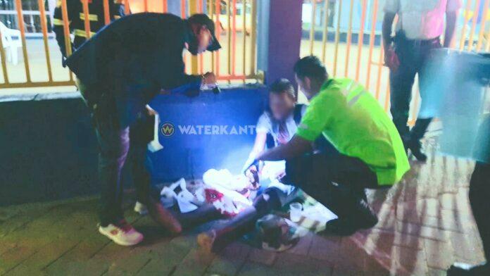 Man beroofd en verwond bij rotonde Van 't Hogerhuysstraat
