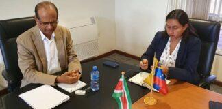 Werkbezoek Venezolaanse ambassadeur aan LVV-minister