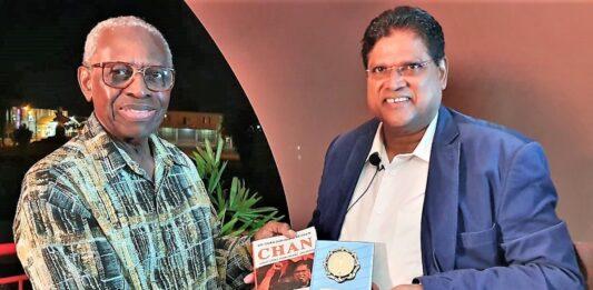 Ex-president Ronald Venetiaan neemt boek 'CHAN' in ontvangst