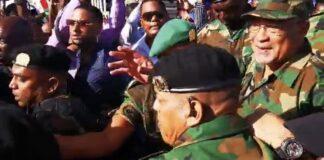 VIDEO: Zitting Bouterse voor de krijgsraad verdaagd naar 31 maart