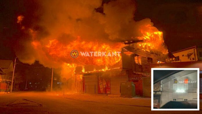 Felle brand Molenpad ontdekt door groep Nederlandse vrouwen in Suriname