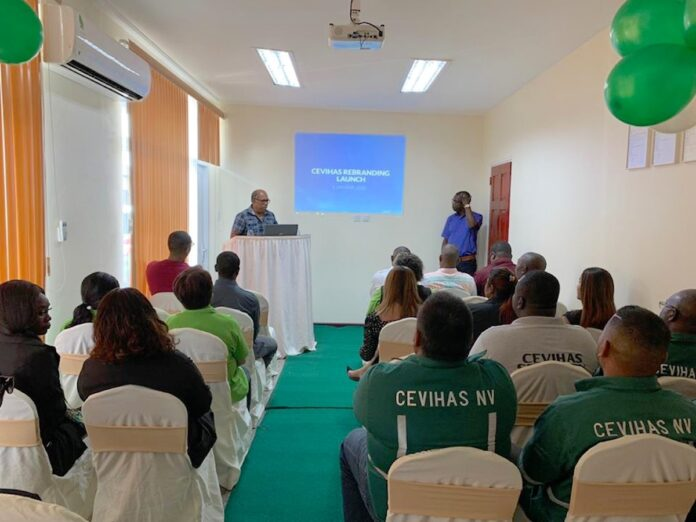Nieuwe site en rebranding voor Centrale voor Vissershavens in Suriname