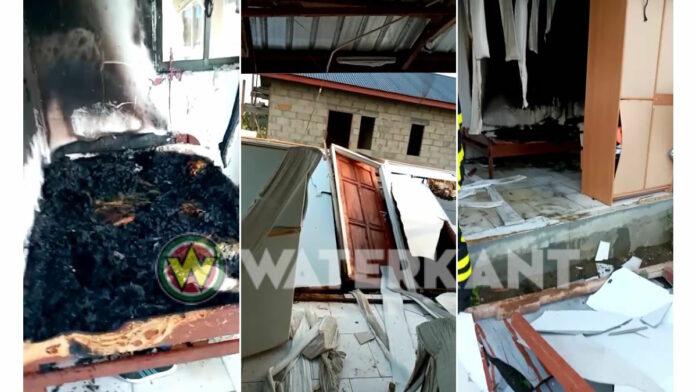 Haïtiaans echtpaar ernstig gewond na gasexplosie in woning