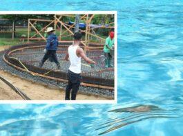 Kinderwaterpark in Paramaribo Zoo krijgt gestalte
