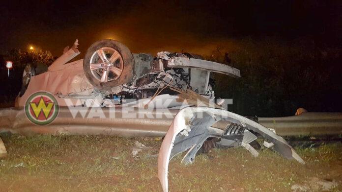 Alweer zwaar ongeluk op Afobakaweg rondom mast 1