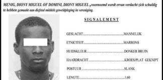 Politie Suriname houdt vuurwapen gevaarlijke rover aan