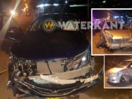Drie voertuigen betrokken bij aanrijding in Suriname