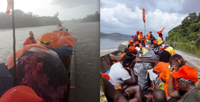 Ook VHP-ers uit Lawa/Tapanahony naar grote volksmanifestatie in De Olifant