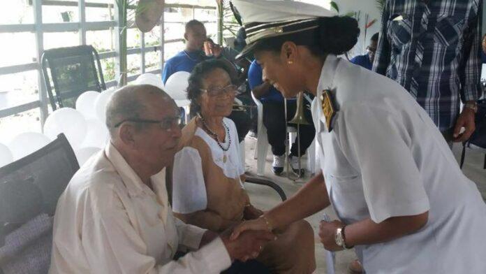 Echtpaar Wattien-Tirep 70 jaar getrouwd