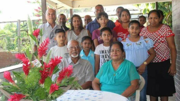 Echtpaar Jhagroe-Nannan 50 jaar getrouwd