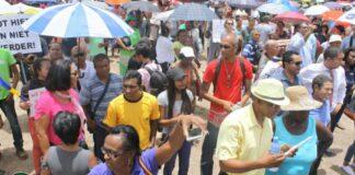 Kabinet verleent toestemming voor protestactie op Onafhankelijkheidsplein