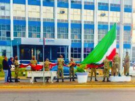 Mammoet vlaggen gehesen met oog op 25 februari
