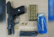 Man met illegaal vuurwapen aangehouden bij controlepost Klaaskreek