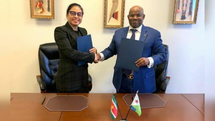 Suriname gaat diplomatieke betrekkingen aan met Djibouti