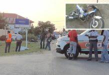Bromfietser overleden na aanrijding in Nickerie