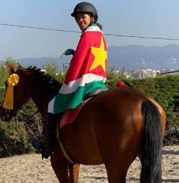 Goed resultaat ruiters uit Suriname op paardensport toernooi in Guatemala