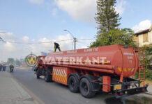 Brandweer Suriname is wachten op toelage zat en voert actie