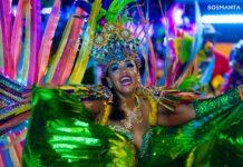 Surinaams TV station doet verslag van Carnaval Curaçao