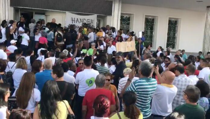 VIDEO: DSB directeur Steven Coutinho wordt niet ontslagen