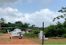 Surinaamse overheid geeft uitleg over inzetten Russische helikopter in Suriname
