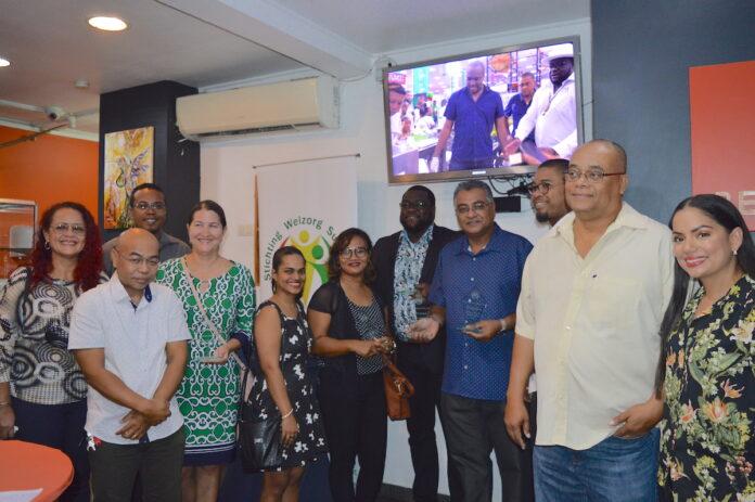 Geslaagde Netwerkborrel van de Stichting Welzorg Suriname