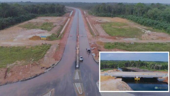 Nieuwe Highway in Suriname wordt vervroegd opgeleverd