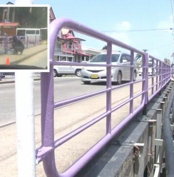 'Paars verven van brug over Sommelsdijck kreek tegen de norm en regels'