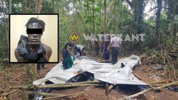 Tent van illegale goudzoekers aangetroffen en ontmanteld, 1 goudzoeker aangehouden