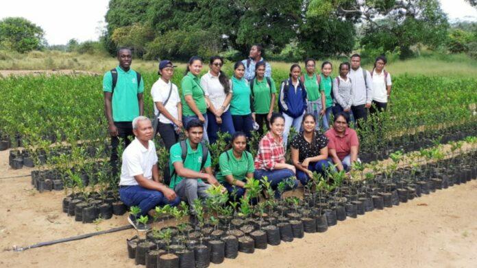 NATIN-studenten bezoeken LVV-ressortkantoor Tamansarie