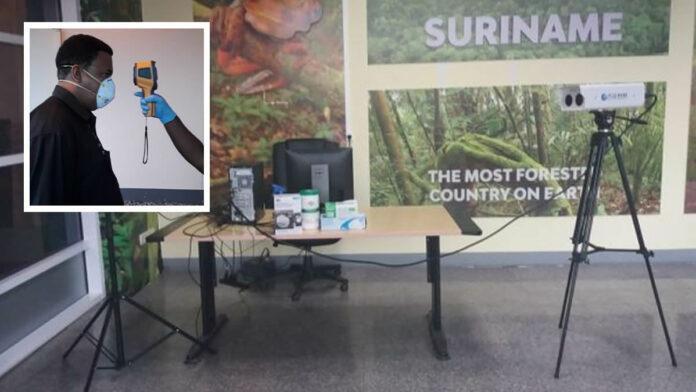 Suriname alert op coronavirus: Landelijke inzet bodyscanners