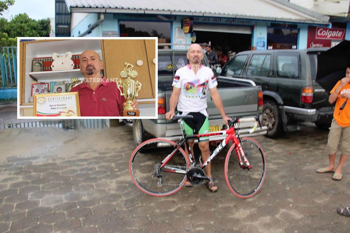 Man die zelfmoord pleegde is bekende 74-jarige Surinaamse wielrenner