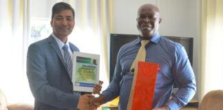 Brunswijk ontmoet ambassadeur India: ABOP wil sterke relatie met India