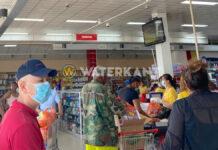 Run op levensmiddelen in supermarkten Suriname