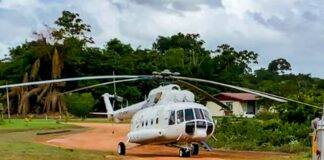 helikopter-suriname