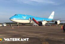 KLM voert laatste vlucht vanuit Suriname uitop 27 maart