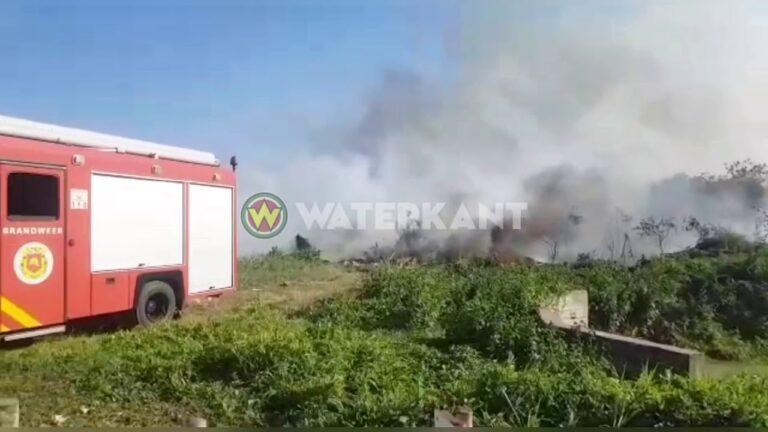 VIDEO: Brandweer voorkomt erger bij brand nabij olie leidingen SOL