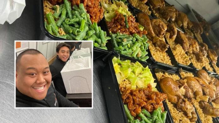 Klein gebaar en dank van restaurant Warung Mini voor IC medewerkers ziekenhuin
